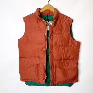 WOOLRICH Vintage Goose Down Feather Puffer Vest